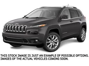 2017 Jeep Cherokee NEW CAR Limited|4x4|V6|SafetyTecPkg|Sunroof|N