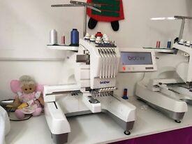 Brother PR600II embroidery machine