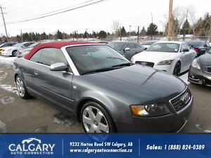 2005 Audi S4 CABRIOLET/ 6 SPEED/ V8/ RARE FIND