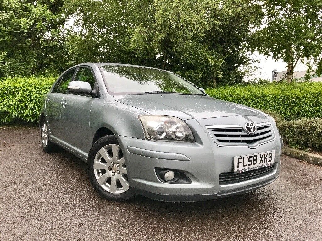 2008 (58) Toyota Avensis 1.8 VVT-i TR auto FULL TOYOTA SERVICE HISTORY 2 OWNERS EXCELLENT COMDITION