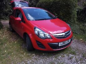 VAUXHALL CORSA 2012REG 1L PETROL IN CLEAN CONDITION
