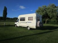 Motor Home McLouis Fiat Ducato, 2002. Kitted out for UK or European travel. Available late Sept 18.
