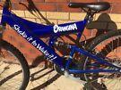 Mountain bike branded Orangina