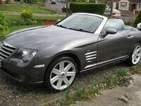 Chrysler Crossfire Roadster, Manual, 2004, 60,000 miles - first class example