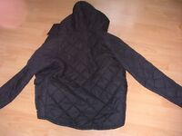 Quilted Hooded Jacket. Very good condition.