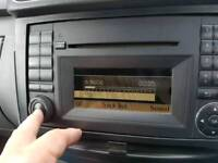 Mercedes MF2830 Stereo unit Bluetooth, Tel, CD, Radio