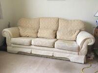 Large Bridgecraft Sofa and chair
