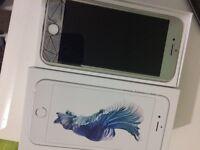Iphone 6s 16GB unlocked white LIKE NEW