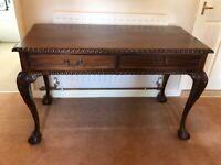 Mahogany Hall/Side Table