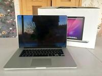 "MacBook 15"" Retina display, 2.8 GHz, 8GM memory, 512GB"