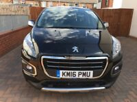 2016 Peugeot 3008 ACTIVE 1.6 BLUE HDI DAMAGED -REPAIRABLE,