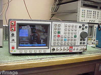 Ifr Aeroflex Ifr-1600s Radio Service Monitor- Working-missing Handles-look Crt