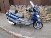Practically brand new condition Piaggio x9 250 cc evolution, very low mileage example.