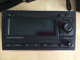 Audi A4 2007 Sat Nav/stereo