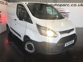 FORD TRANSIT CUSTOM 2.2 TDCi 290 L1H1 Double Cab-in-Van 3dr (white) 2014