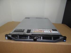 """Dell Enterprise Server PowerEdge R620 2xE5-2680  2x8-CORE CPUs 256GB-RAM 4x1TB-SATA-2.5""""-7.2K Drives H710-RAID 1U"""