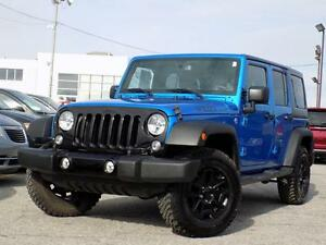 Jeep Wrangler Unlimited WILLYS 2015 PLAN OR 5ANS/100