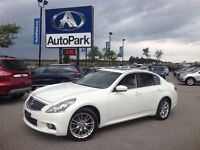 2011 Infiniti G25X Sport/ BLUETOOTH/ HEATED LEATHER SEATS/ SUNRO