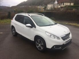 Peugeot 2008 1.6 e-HDi Feline Mistral Ambience - Top Spec, Low Mileage