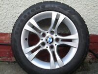4 alloy wheels for a BMW 320 d