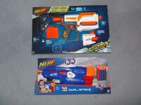 TWO BRAND NEW NERF GUNS UNOPENED packaging