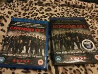 Expendables 2 Blu Ray DVD