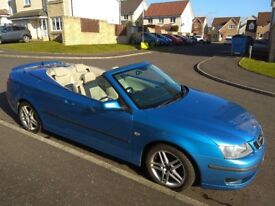 Saab 9.3 Vector Sport 1.8t convertible Only 48,000 miles