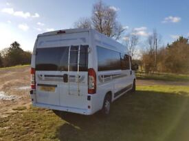 Citroen Relay LWB campervan conversion. Brand new conversion on 2011 van. Top Spec. Must see