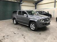 2014 vw amarok highline bio 2.0tdi 180bhp dsg leather sat nav low miles cheapest in country