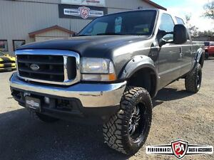 2002 Ford F-350 LARIAT LIFTED 4X4 POWERSTROKE DIESEL!!