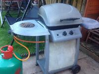 BBQ 2 Burner plus side burner