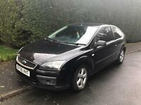 FORD FOCUS ZETEC CLIMATE T 2005 3 DOOR 1.6 BLACK MOTD