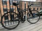 Single Speed (Fixed Gear or Free Wheel) All Black Bike (Montague Boston)