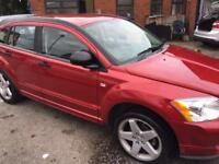 Dodge Caliber auto petrol and gas lpg low mileage only 68000