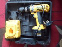 DeWalt drill DC981