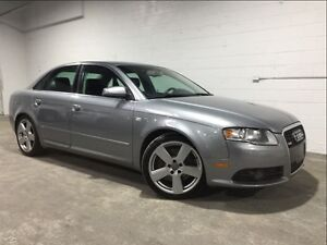 2008 Audi A4 S-LINE! 6 SPEED! AWD!