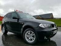 March 2006 BMW X3 2.0d 4X4, STUNNING EXAMPLE! FULL LEATHER! LOW MILES! FSH! 6 MONTHS WARRANTY!!