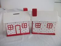 Ceramic House Money Box