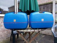 Givi Kappa Monokey E45 panniers topbox top box hard luggage 45Ltr pair