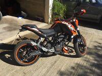 For Sale KTM 125 Duke