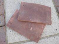 roof tiles and ridge tiles
