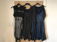 All Saints dresses.
