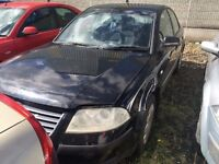2002 Volskwagen Passat, 1.9 Diesel, Breaking for parts only, All parts available