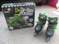 Boys Zinc In-Line Skates (Adjustable Size 13-3)