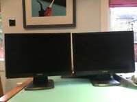 """Cibox LE22A3 22"""" / 56 cm widescreen TFT LCD Monitor (with cables) - 2 available £35 each / £65 pair"""