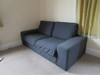 2 Seats Ikea couch-as new!