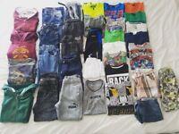 Large bundle boys clothing sage 7-8yrs incl Next, Puma, Harry Potter