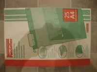 FOR SALE BRAND NEW 25 ESSELTE PENDAFLEX GREEN A4 SUSPENSIONFILES (93011)