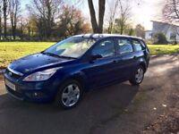 09 Ford Focus Estate 1.8 TDCI 5DR Diesel . 80k genuine miles FSH may 18 MOT Drives superb 60+ MPG