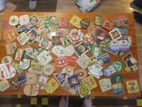 Beer Mat Collection from the 80's